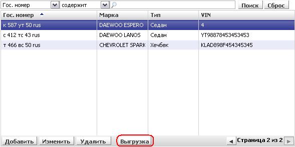 Выгрузка данных из IRIS CRM